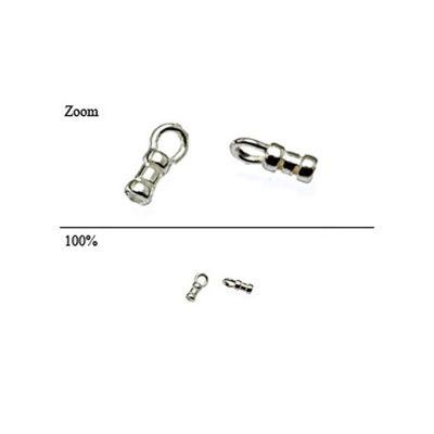 Sterling Silver 1.8mm I/d Compression End cap