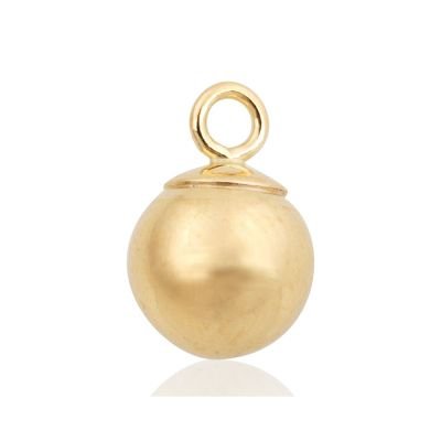 Gold Filled 6mm Ball Pendant