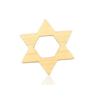 Gold Filled Star Of David Pendant 14.5mm