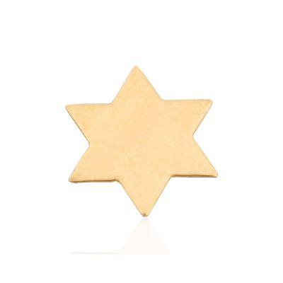 Gold Filled Medium Flat Star Of David