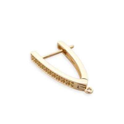 14KY 20x1pt diamond earrings