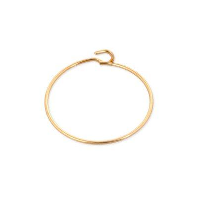 19mm Gold filled hoop wire Earring
