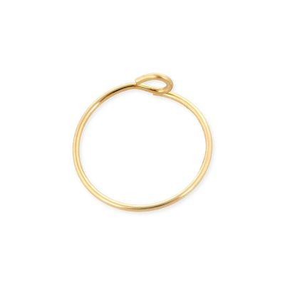 12mm Gold Filled Hoop Wire Earring