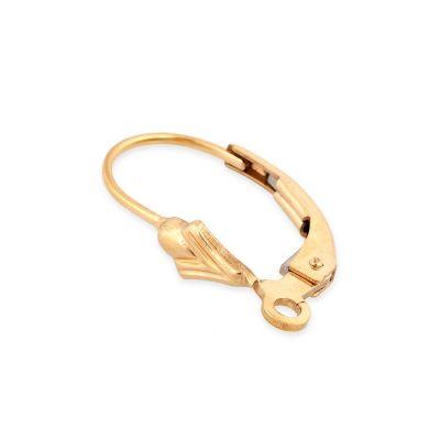 Gold Filled Lever Back Earring