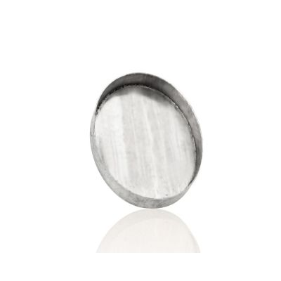 Sterling Silver 15/20mm Bezel Cup