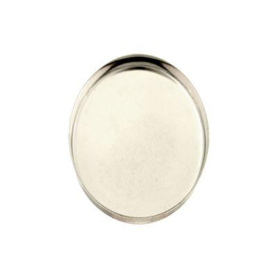 Sterling Silver 22/30mm Bezel Cup