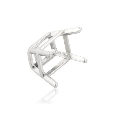14KW Emerald cut 1.5CT (6x8MM) 4prg Basket Cast 30786-0300-000
