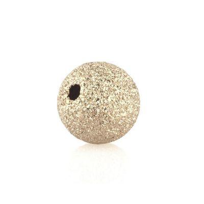 14K Yellow Gold Lazer Finish Bead 7mm 064BDZ77700000