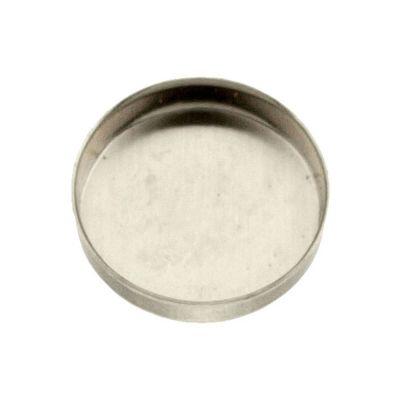 Sterling Silver 12mm Bezel Cup
