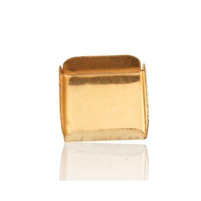 Gold Filled 10/10mm Bezel Cup