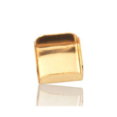 Gold Filled 6/6mm Bezel Cup