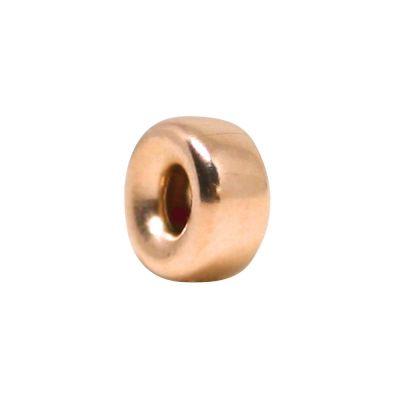 Rose Gold Filled 4mm Roundel Bead