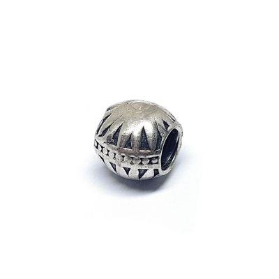 Designed Bead Silver 925