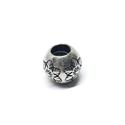 Charm Bead Silver