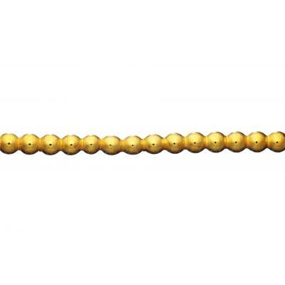 Brass Beaded Wire 4mm