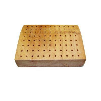 Burrs Wooden Box  W/ 80 holes