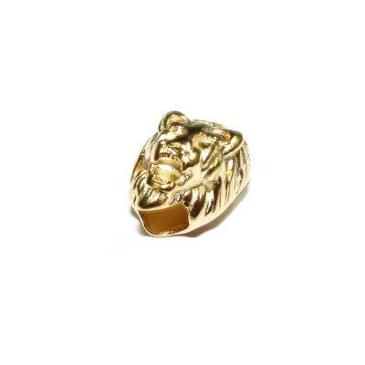 14K Gold Plated Lion Pendant
