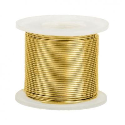 14K Yellow Gold Round Wire 2mm/12 gauge