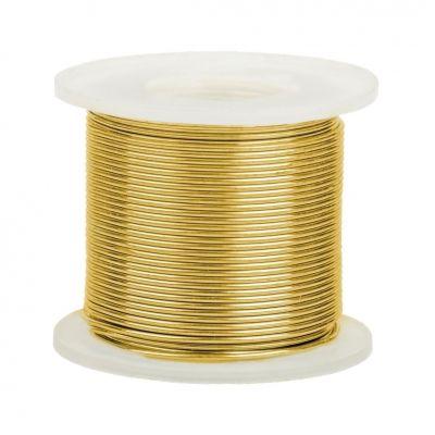 14K Yellow Gold Round Wire 2.5mm/10 gauge