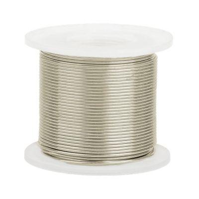14K White Gold Round Wire 0.8mm/20 gauge