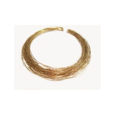 Gold Filled Yellow Soldering Wire Soft  3K