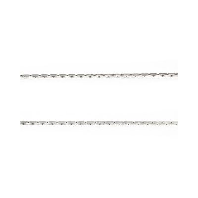 Sterling Silver 0.6mm Diamond Cut Cardano Chain