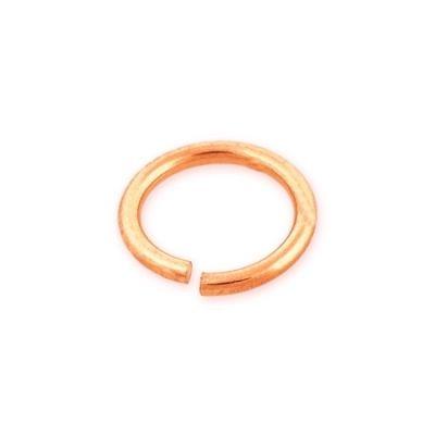 14KR Gold 4mm  Open Jump ring