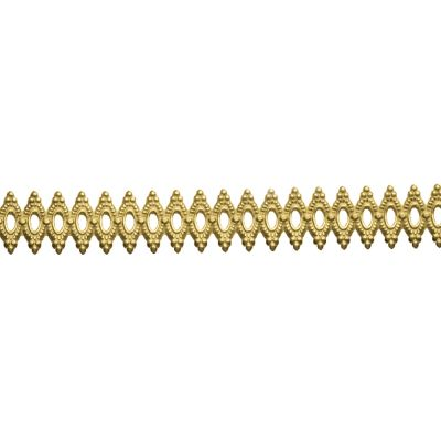 Gold Filled Gallery Ribbon 1492H