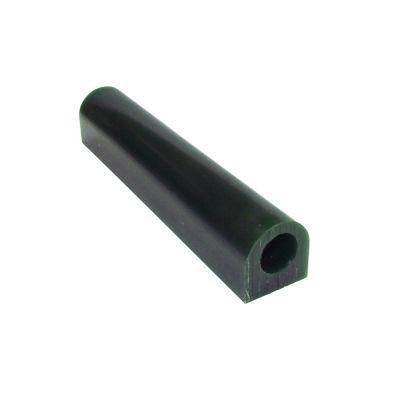 MATT Wax Ring Flat Hard GreenTube With Hole 1-1/8