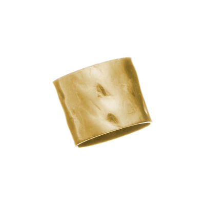 Gold Filled 6/5mm Hammered Tube