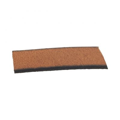 Leather Camel Flat Strip 10X2mm