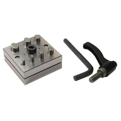 Disc Cutter Oval 7 Punch W/lever And Box