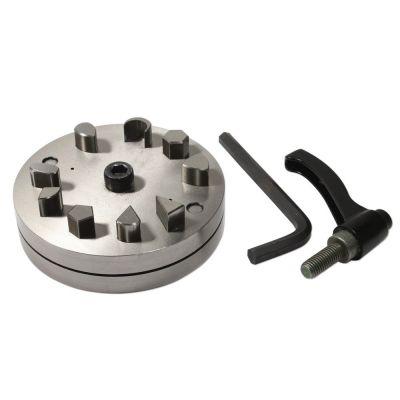 Disc Cutter Set Of 9 Asst Shapes W Handle Box