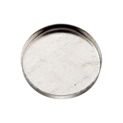 Sterling Silver 30mm Bezel Cup